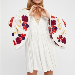 Free People Love Embroidered Tunic